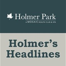 Holmer's Headlines- workout at home